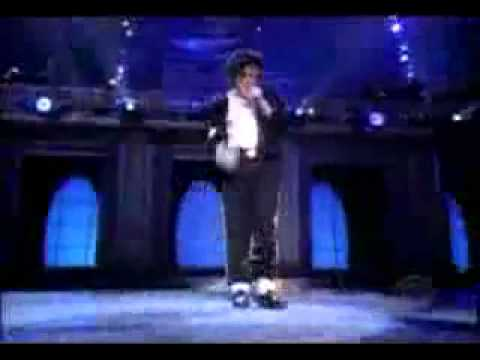 Michael Jackson-Billie Jean-Moonwalk Dance
