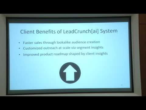 MIT Enterprise Forum San Diego –November 2017 Case Study: LeadCrunch