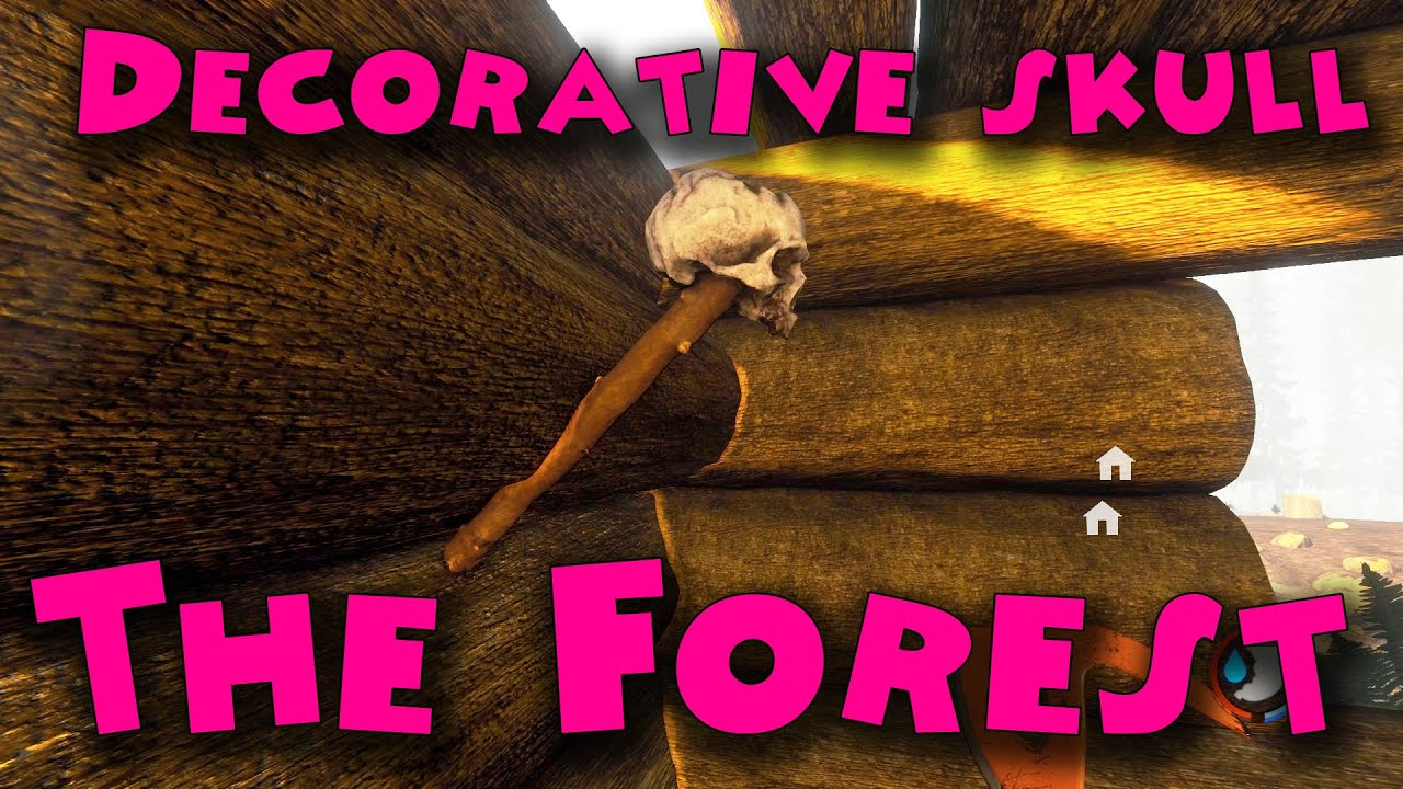 The Forest - Decorative skull - YouTube