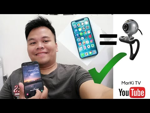 HOW TO USE SMARTPHONE AS WEBCAM ON YOUR PC [TAGALOG]
