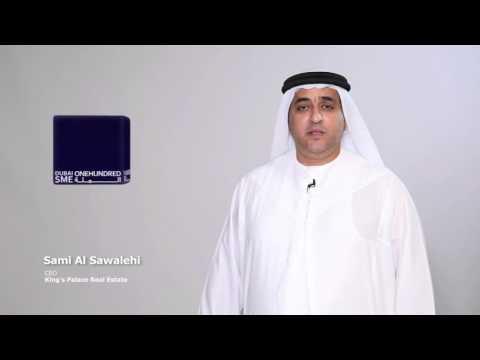 61st Ranking in Dubai SME 100 Awards for Kings Palace Real Estate PJSC Dubai 2015