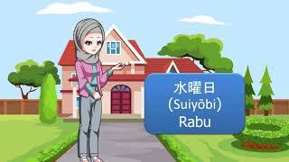 Belajar Bahasa Jepang Mengenal nama hari by Pesona Bahasa