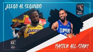 ¿CONSIGO EL SEGUNDO MÁSTER ALL STAR EN NBA LIVE MOBILE S4?