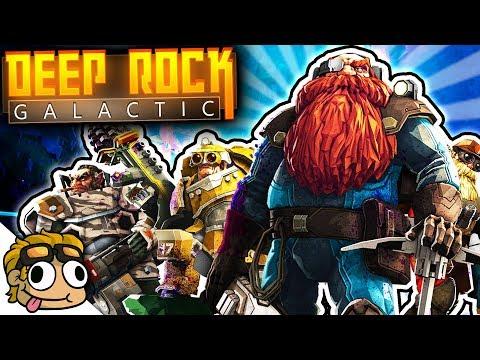 MINING MISSIONS w/ HUGE SQUAD GLITCH! | Deep Rock Galactic PC Gameplay