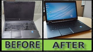 How to Clean A Laptop and Notebook at Home || How to Clean Laptop Keyboard and Screen