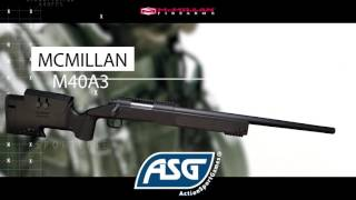 NEW ASG Sportline Licensed Mcmillan M40 spring Sniper Rifle.