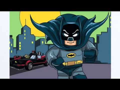 LEGO 1966 Batcave Details? - YouTube
