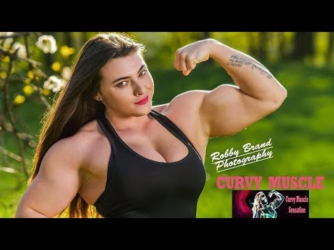 Huge Muscles Girl | Jessica Mafessolli Workout | Female Bodybuilding Fbb