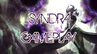 League of legends - Syndra Gameplay