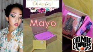 OH MY BOX! MAYO ¿LLEGÓ ROTO? #UNBOXING Y RESEÑA