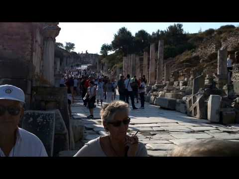 The Road to the Celsus Library - Ephesus