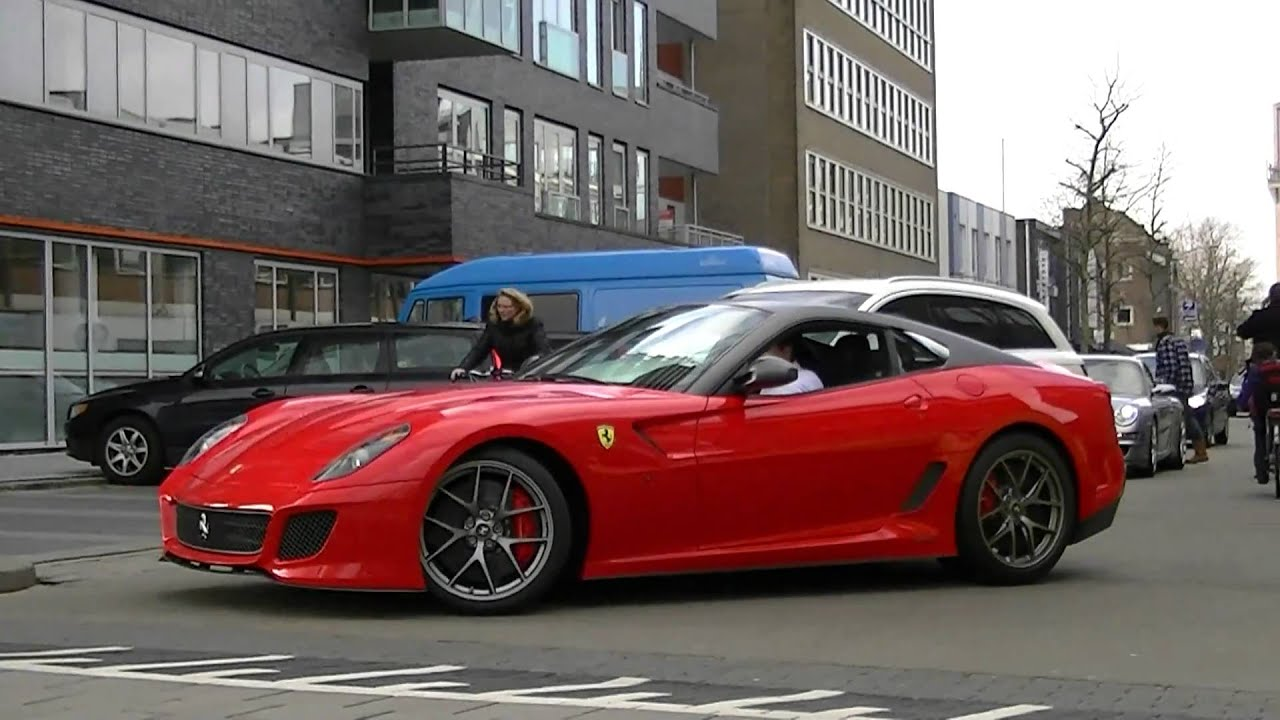 new ferrari 599 gto v12 extreme sound w downshift youtube. Black Bedroom Furniture Sets. Home Design Ideas
