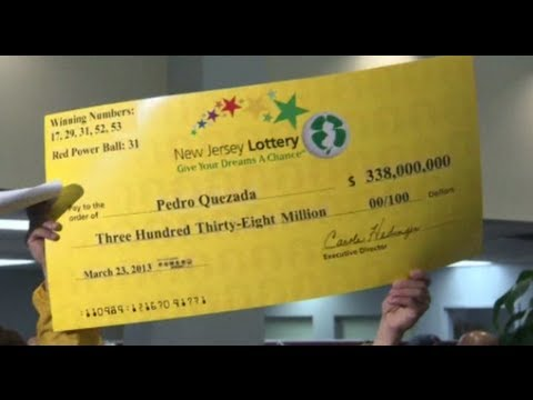 Dominican immigrant scoops $338m US lottery prize
