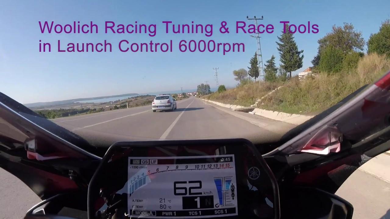 2017 Yamaha YZF-R1 Woolich Racing - ECU Flashing