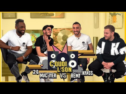 Youtube: C'Quoi L'Son: Mac Tyer/2G VS Rémy/Ikyass sur du SCH, Gazo, Vald, Moha K,  Lunatic,  Djadja & Dinaz