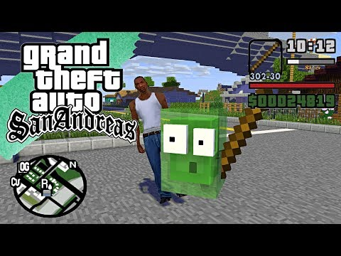 Monster School : GTA SAN ANDREAS PART 3 - Minecraft Animation