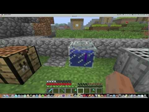 How To Make And Fill A Fishbowl(Minecraft)