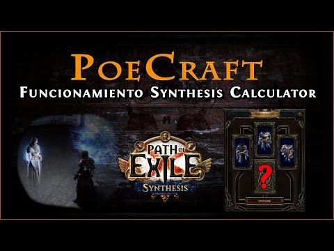 Guía Path Of Exile 3.6 || Funcionamiento Calculadora Synthesis De PoeCraft
