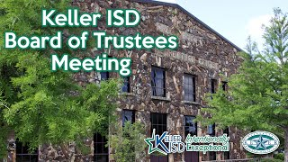 KISD Board Special Meeting, August 3, 2020