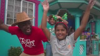 Dj Paul | Lift Jesus High | Official Music Video | Gospel Soca Parang | Christmas