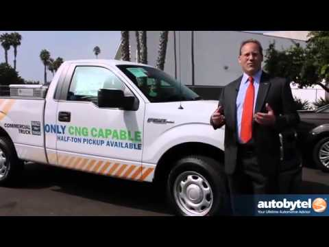 2014 Ford F 150 CNG Debut at AltExpo compressed natural gas alternative fuel pick up truck video   Y