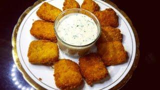 Crispy Fish Nuggets Recipe | Fillet O Fish Nuggets | Fish Starter Recipe