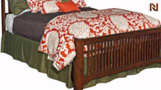 Kincaid 78-150p Rosecroft Slat Bed Queen 5/0- Package