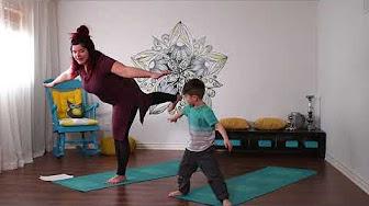 Yoga avec enfant - YouTube 083db21996e