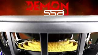 Slow motion excursion of the  SSA® Demon 550W subwoofer!