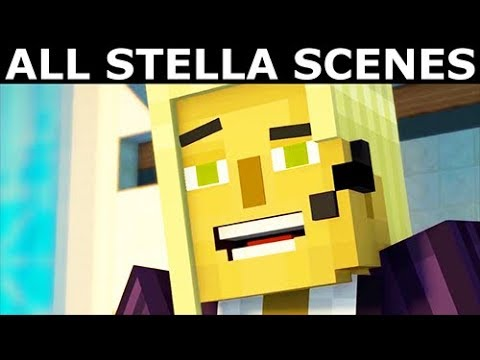 All Stella Scenes Minecraft Story Mode Season 2 Episode 1 Hero