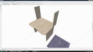 qfby.ru Проектирование простенького компьютерного стола в Pro100