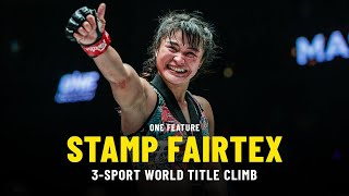 Stamp Fairtex's Quest For 3-Sport ONE World Title   ONE Feature