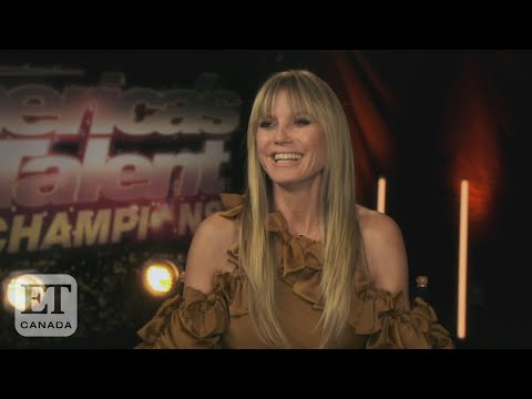 Heidi Klum on returning to 'America's Got Talent: The Champions': 'I ...