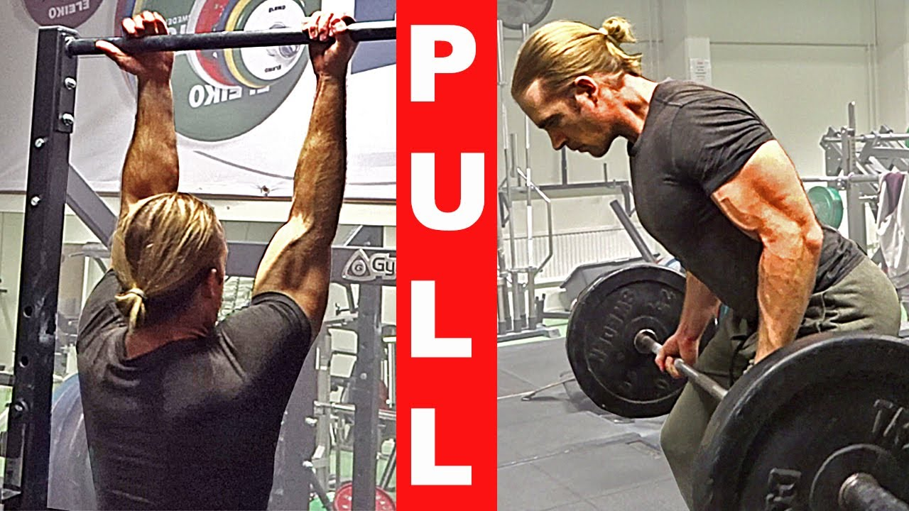 PULL Workout: Hybrid Calisthenics & Gym [Back & Biceps]