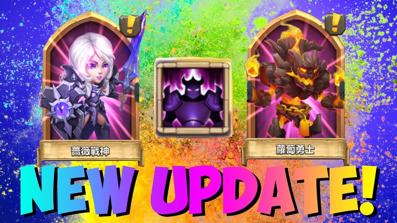 NEW Update TWO New Heroes ALL you Need to know! Castle Clash