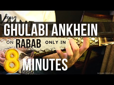 How To Play Ghulabi Aankhein On Rabab