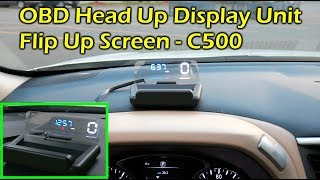 C500 OBDII HUD Head Up Display…