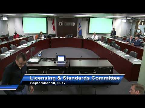 Licensing and Standards Committee - September 18, 2017 - Part 2 of 2