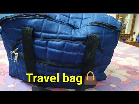इस वीडियो को देख कर आप आसानी से बैग बना लेगें Big travel bag
