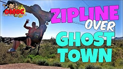 EPIC Superstition  ZIP LINE  GOLDFIELD Ghost town