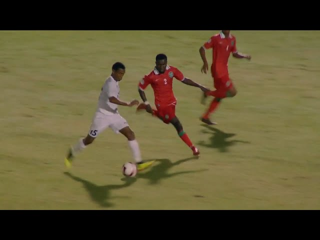 Highlights: Trinidad 0 - 2 Suriname