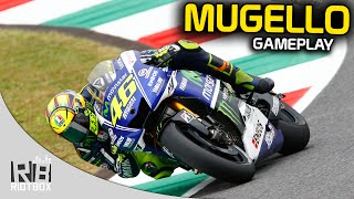 MotoGP 2015 Mod Gameplay - GP Mugello as Rossi