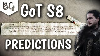Game of thrones season 8 predictions (plot ideas)