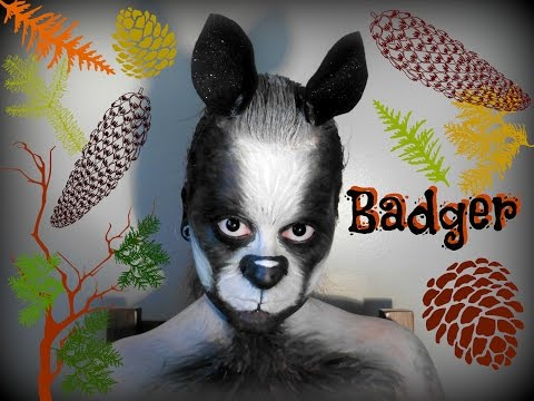 Badger Face Painting Tutorial | Hufflepuff House | Ban The Cull