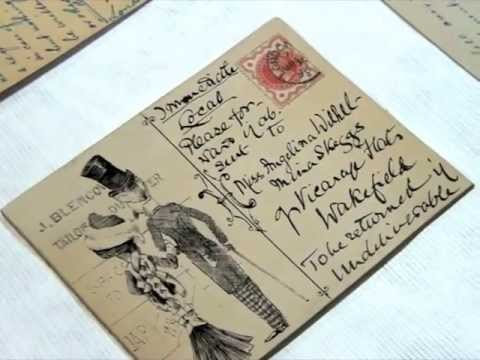 The Postcard Archives: Part 1 of a visit to the British Postal Museum & Archive