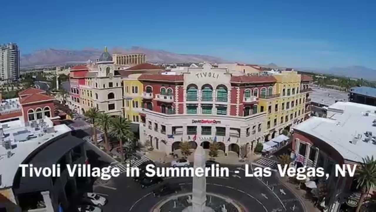 Tivoli Village In Summerlin Las Vegas Nv Drone Flight