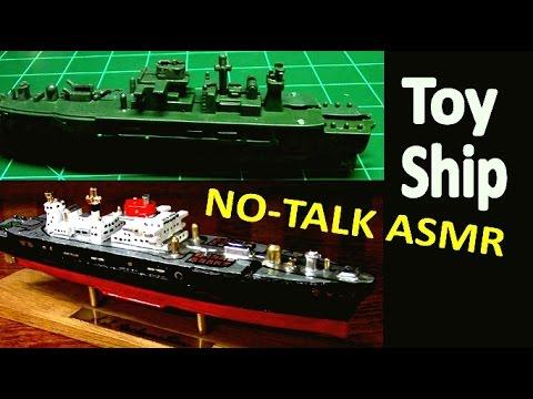Toy Ship Rescue - ASMR - No Talking Version