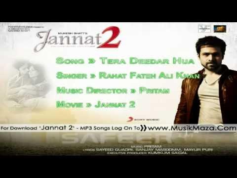 'Tera Deedar Hua' - Full Song _HD_ - _Jannat 2 - Rahat Fateh Ali Khan