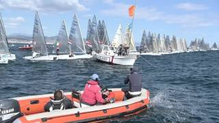 Highlights video from fourth day at Finn Europeans in Barcelona