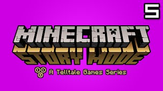 Minecraft Story Mode Let's Play: Episode 2 Part 1 - BOOM TOWN